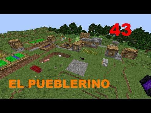 Minecraft - El Pueblerino Parte 43 En español por Carlos (Hagase la luz)