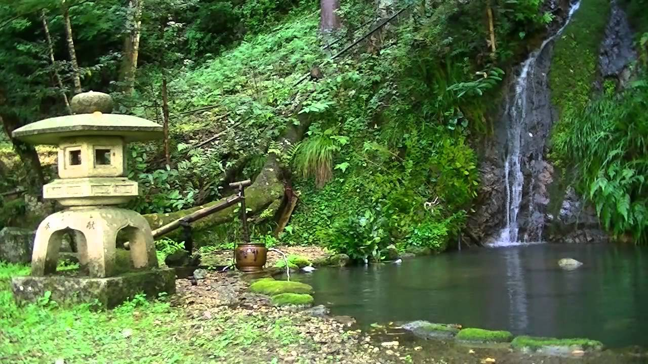 Shishi odoshi waterfall youtube - Shishi odoshi bamboo water feature ...