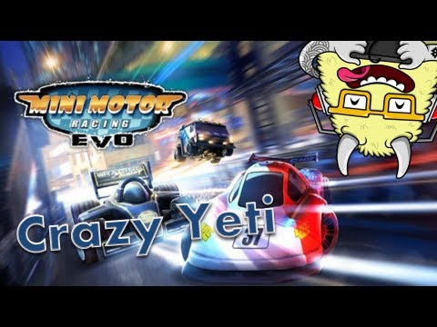 Crazy Yeti Plays... Mini Motor Racing EVO - PC HD Gameplay