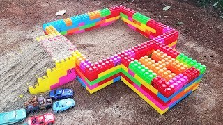 Learn Colors With Blocks Toys Build Blocks Toys for Kids and Children