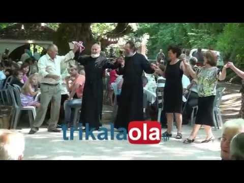 Βατσουνιά Καρδίτσας πανηγύρι Αγίου Παρθενίου εκδήλωση φιλοξενία χορός Δευτέρα 21 7 2014 μέρος 2ο Music Videos