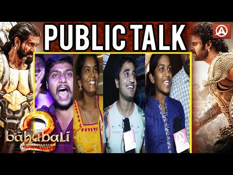 Baahubali 2 Public Talk | Bahubali 2 Movie Public Talk | Public Review | Prabhas, Rana | Namaste thumbnail