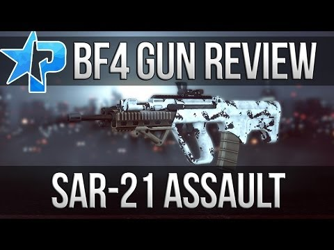 Battlefield 4 Gun Review - Sar-21 Assault (Battlefield 4 Multiplayer Gameplay BF4 Sar21 1080p)