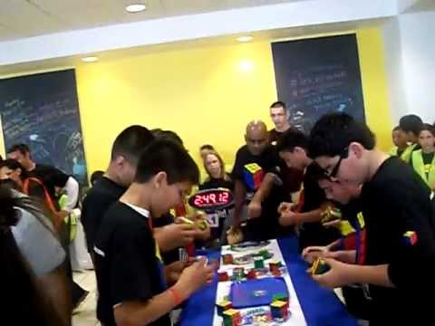 San luis Middle School YOU CAN DO THE RUBIK'S CUBE ARIZONA STATE CHAMPIONS