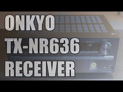 Onkyo TX-NR636 AV Network Receiver unboxing [4K]