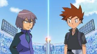 Pokémon Battle USUM: Paul Vs Gary (Ash's rival battle)