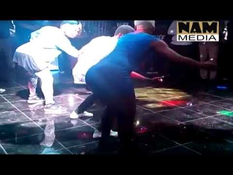 Bisa Kdei, Emmanuel Adebayor, Asamoah Gyan, funny face - Mansa Dance video