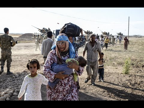 UN report: Global refugee crisis has hit all-time high