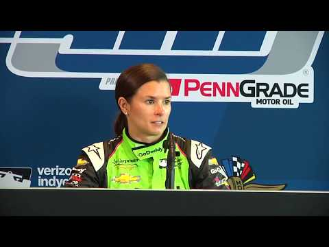 Danica Patrick Indy 500 Post-Practice Press Conference