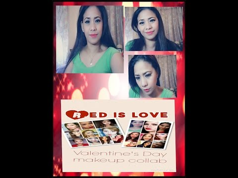 Red is Love pinay youtuber valentine collaboration ll jennilynmejarito