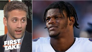 Lamar Jackson's arm is more important than his legs - Max Kellerman | First Take