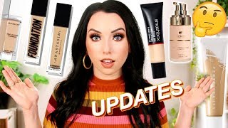 LOVE? HATE? NEVER USING AGAIN?! Foundation Updates! Fenty, ABH, Smashbox...