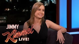 """Brie Larson Didn't Know She Was Auditioning For Amy Schumer's """"Trainwreck"""""""