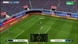 Pes 6 Atlético Madrid vs Real Madrid cánticos 2014 VERSIÓN FINAL