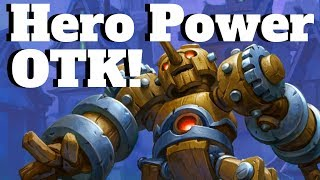 Clockwork Automaton OTK! Hunter Hero Power OTK! [Hearthstone Game of the Day]