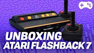 Unboxing: Atari Flashback 7 - TecMundo Games
