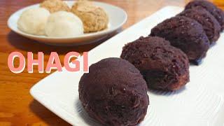 Sweet red bean rice ball Botamochi (Ohagi) / Recipe ぼたもち(おはぎ) の作り方 レシピ