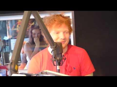 Ed Sheeran - New Zealand radio 10/03/13