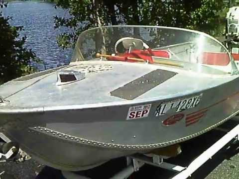 how to make an aluminum boat less bouncy