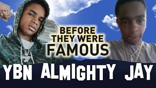 YBN ALMIGHTY JAY | Before They Were Famous | Biography Blac Chyna Boyfriend