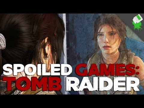 Tomb Raider SPOILED GAMES! Adam Sessler, Kotaku's Kirk Hamilton, and Tara Long!