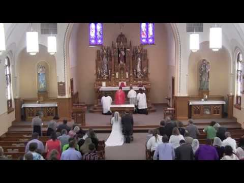 Dakota & Linsey: Rite of Marriage and Missa Cantata (Ember Saturday after Pentecost)