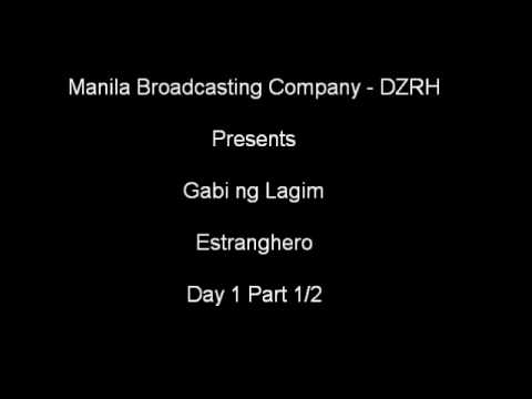 Gabi ng Lagim, Estranghero Day 1 Episode 1/2
