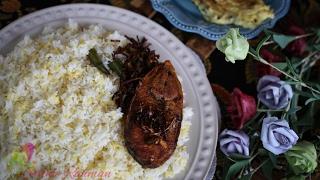 সাদা খিচুড়ি    White Khichuri    Bangla Recipe    Boshakhi Special    R# 133