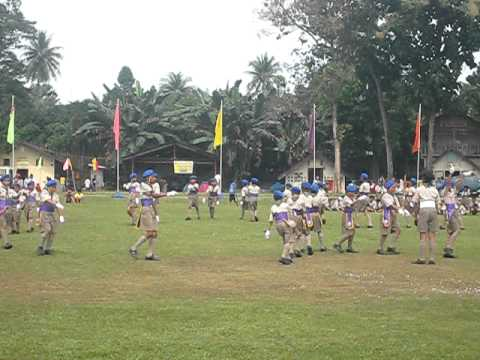 Magallanes Elementary School  Fancy Drill Competition at Malagos, Calinan, Davao City