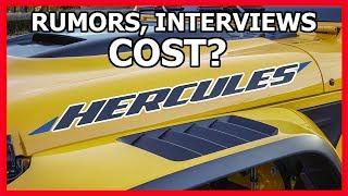 Jeep Gladiator HERCULES Performance Model? Pricing?