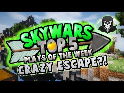 CRAZY ESCAPE! - Top 5 SKYWARS PLAYS of the Week