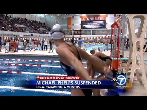 USA Swimming suspends Michael Phelps for 6 months