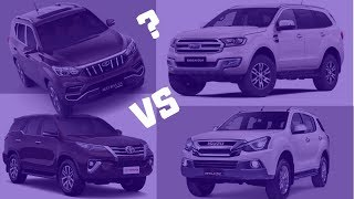 Mahindra Alturas G4 Vs Fortuner Vs Endeavour Vs MUX | Specs & Dimensions Compared by Jay Dave #iatv