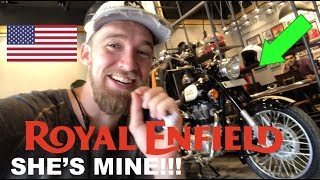 I BOUGHT A ROYAL ENFIELD in INDIA!! (FINALLY!!)