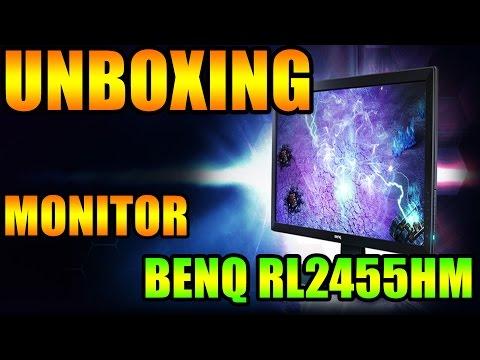 Unboxing Monitor Profesional de Gaming BenQ RL2455HM
