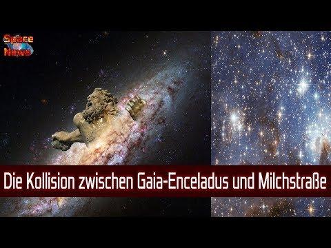 Die galaktische Kollision zwischen Milchstraße und Gaia-Enceladus [Space News]