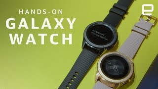 Samsung Galaxy Watch Hands-On: Steady progress, but few thrills