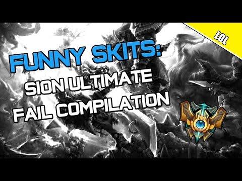 ✔ Funny Skits: Sion Rework Ultimate Fail Compilation | League of Legends | Season 4