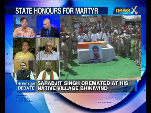 NewsX Debate: How should India tackle Pak after Sarabjit's death? -- part 2