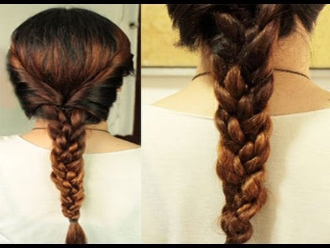 Fall Twist Braided Braids Hair Tutorial