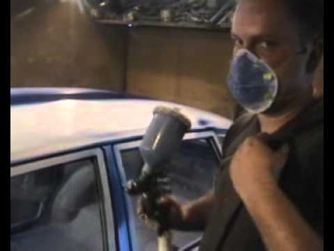 Быстрый урок покраски автомобиля от Бумбокса