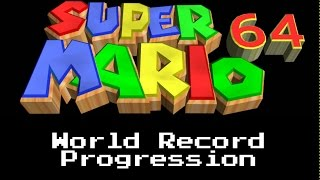 (Check Pinned) World Record Progression: Super Mario 64 - 120 star