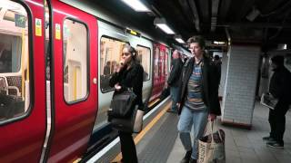 London Underground S Stock Trains At Euston Square 29 October 2015