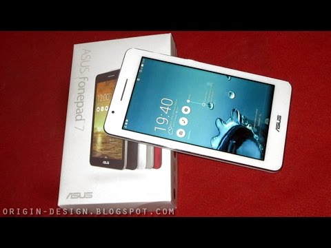 Part 1 - Full Review ASUS Fonepad 7 FE171CG - White - 2GB RAM