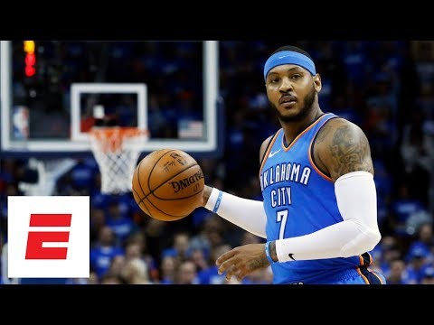 Will Cain reacts to Carmelo Anthony being traded by Thunder to Hawks   The Will Cain Show   ESPN