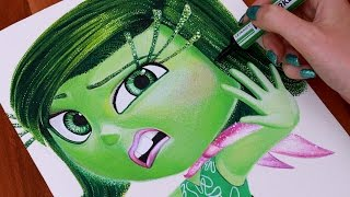 INSIDE OUT Drawing DISGUST