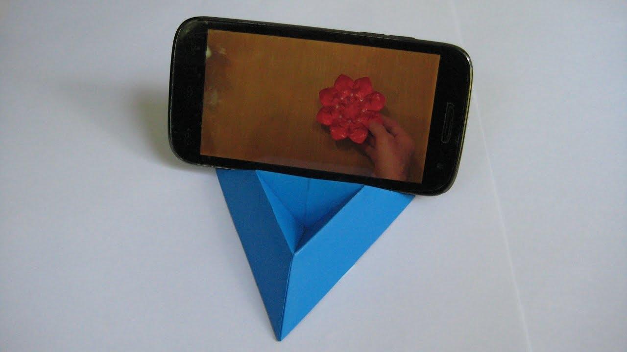 Подставки для телефона из бумаги