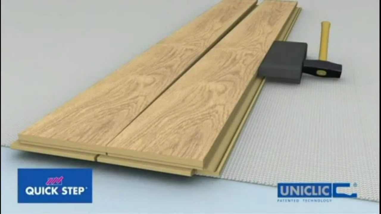 Onflooring quick step uniclic laminate flooring floating for Uniclic flooring