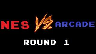 NES Vs. Arcade Comparisons #1