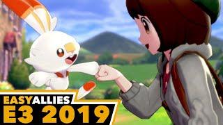 Pokemon Sword and Shield Impressions - E3 2019 (Day 2 Highlight)